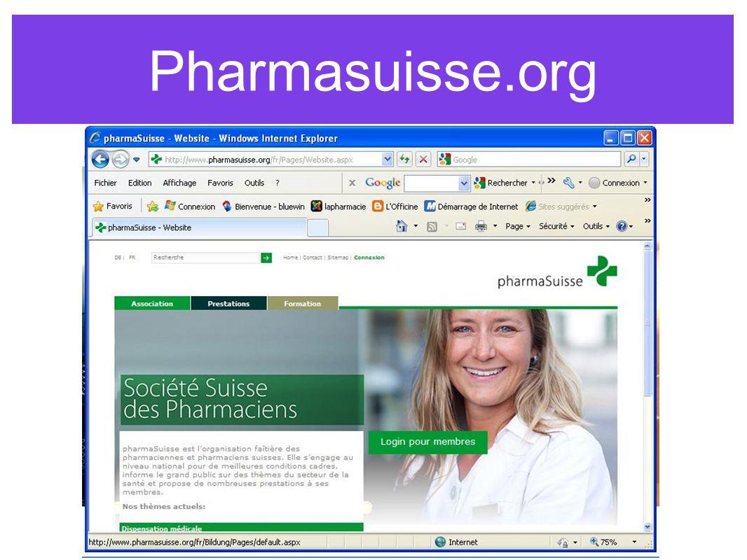 Pharmasuisse.org www.pharmasuisse.org