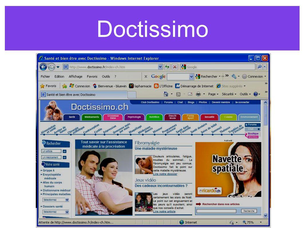 Doctissimo www.doctissimo.fr