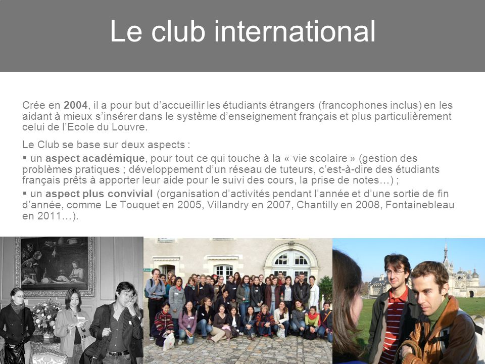 Le club international