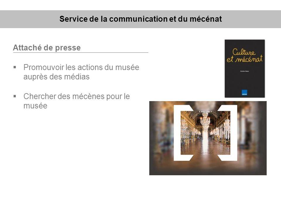 Service de la communication et du mécénat