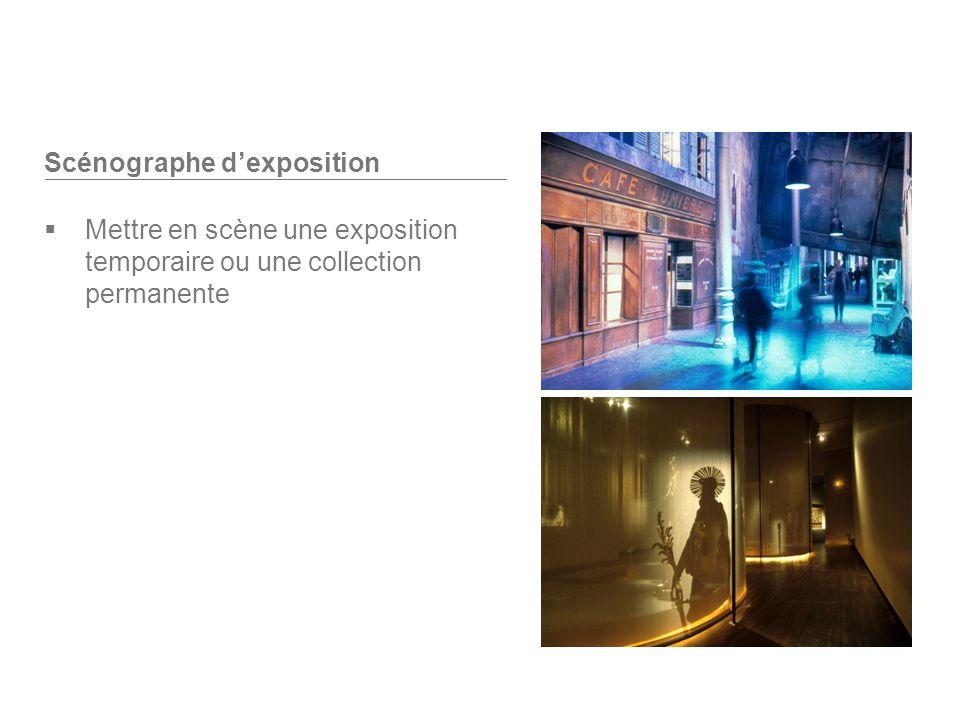 Scénographe d'exposition