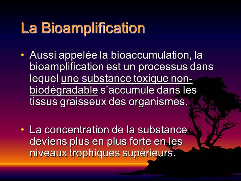 La Bioamplification