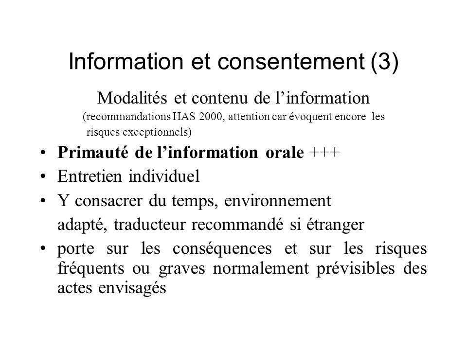 Information et consentement (3)