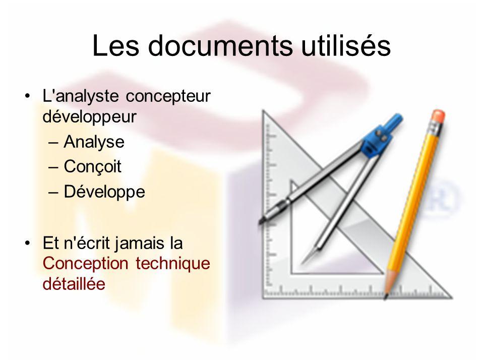 Les documents utilisés