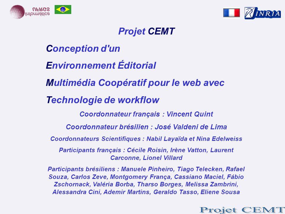 Environnement Éditorial Multimédia Coopératif pour le web avec