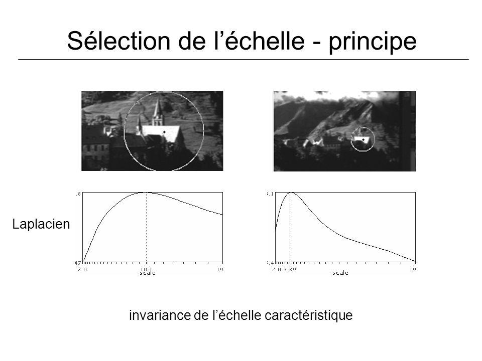Sélection de l'échelle - principe