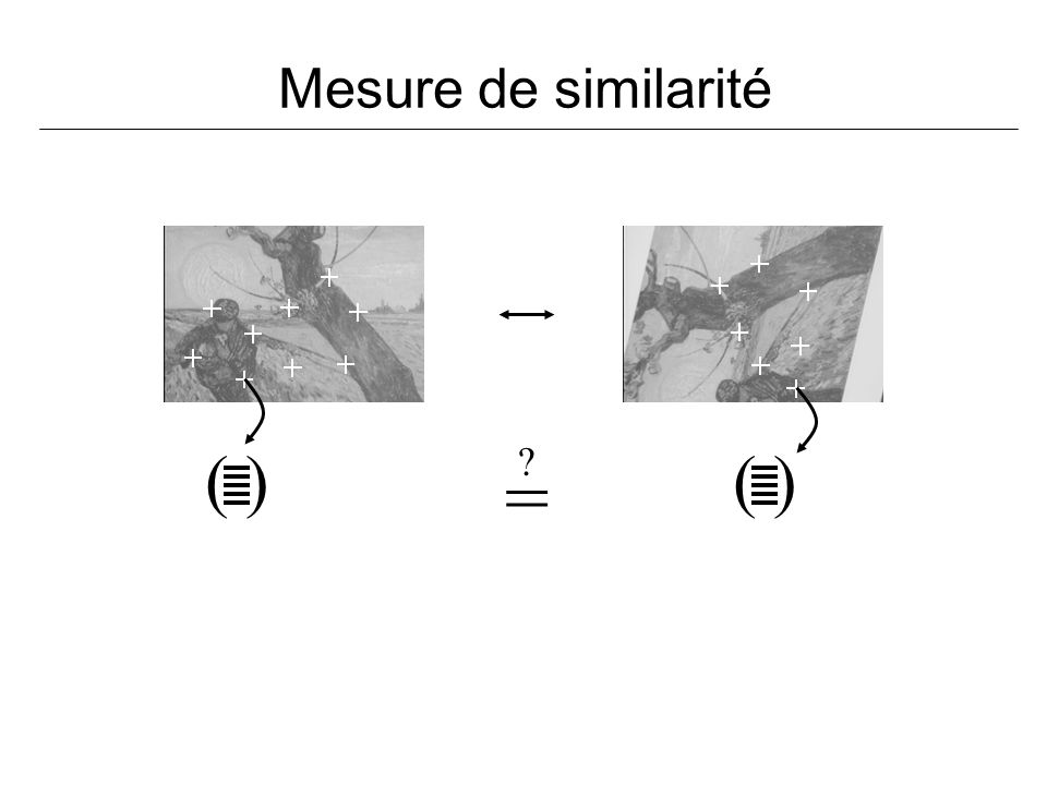 Mesure de similarité ( ) ( ) =