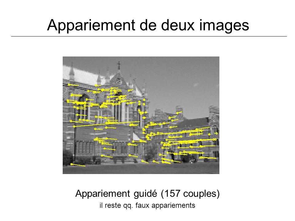 Appariement de deux images