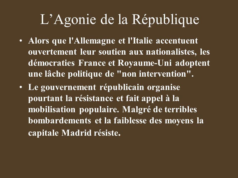 L'Agonie de la République