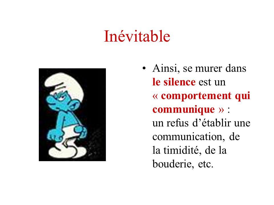 Inévitable