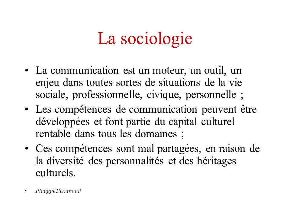 La sociologie