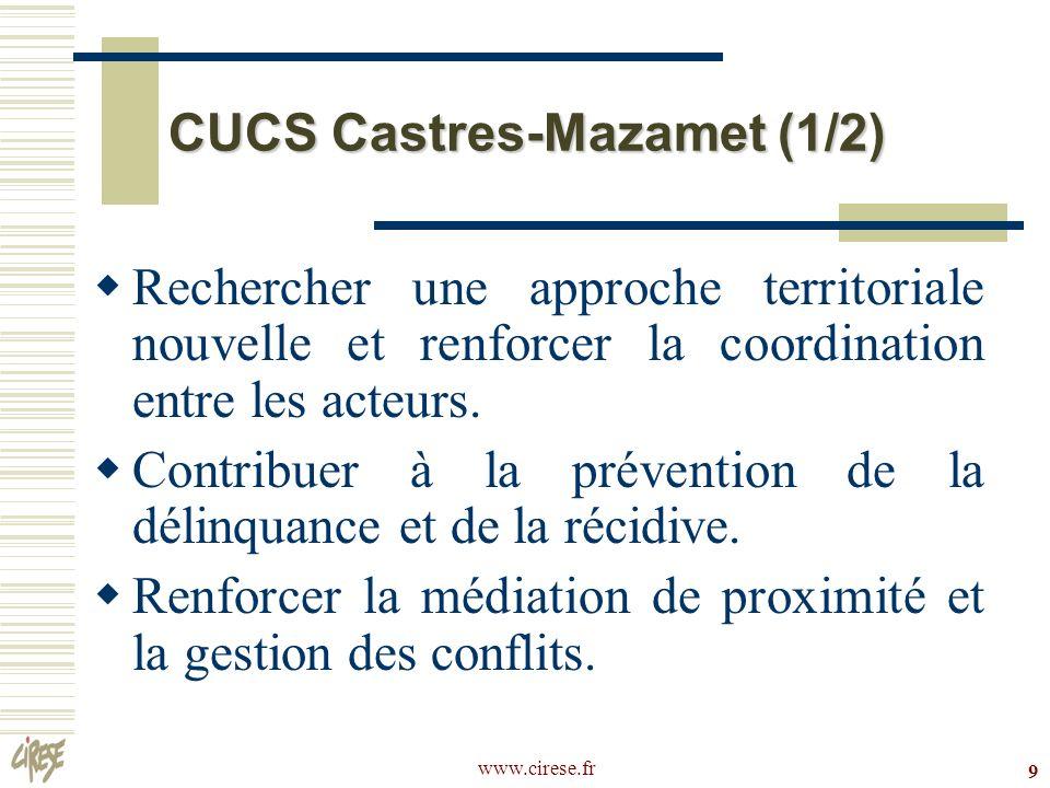 CUCS Castres-Mazamet (1/2)