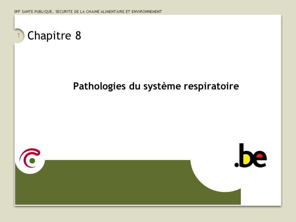 Pathologies du système respiratoire