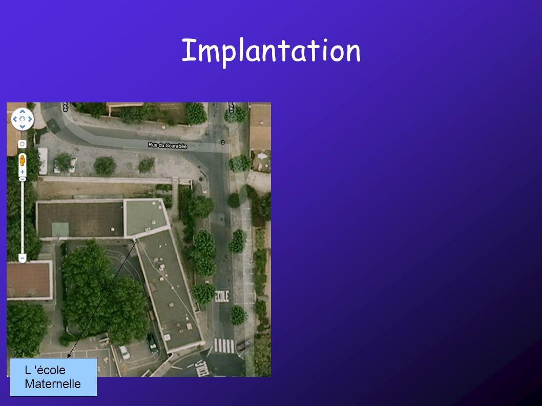 Implantation L école Maternelle