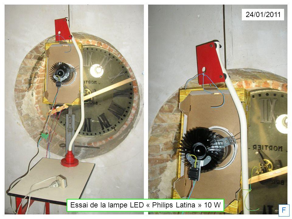 Essai de la lampe LED « Philips Latina » 10 W