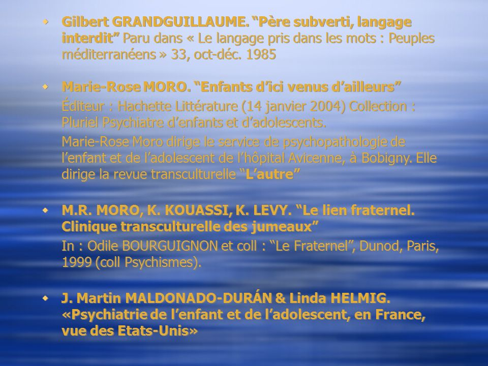 Gilbert GRANDGUILLAUME