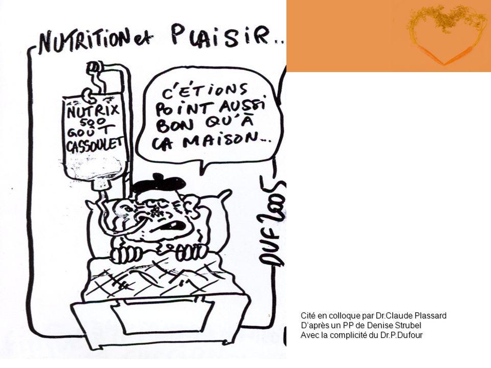 Cité en colloque par Dr.Claude Plassard