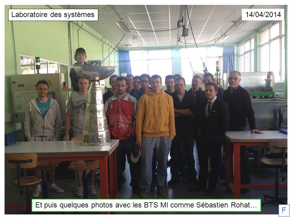 Et puis quelques photos avec les BTS MI comme Sébastien Rohat…
