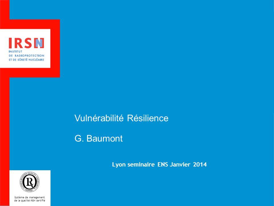 Lyon seminaire ENS Janvier 2014