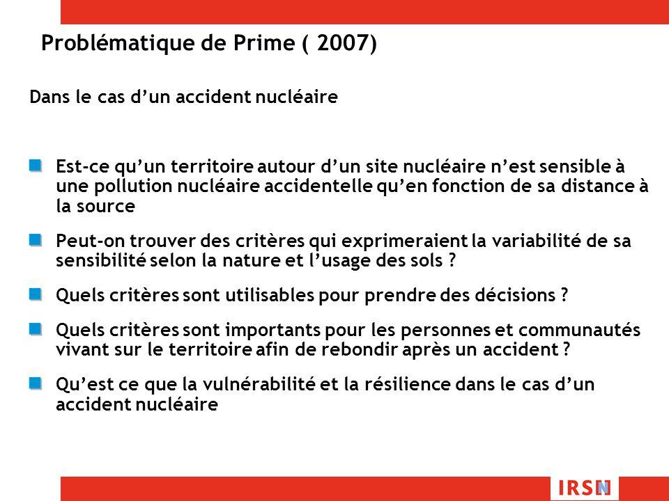Problématique de Prime ( 2007)