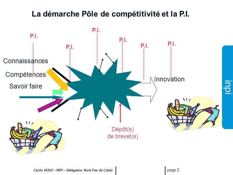 La démarche Pôle de compétitivité et la P.I.
