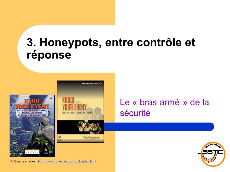3. Honeypots, entre contrôle et réponse