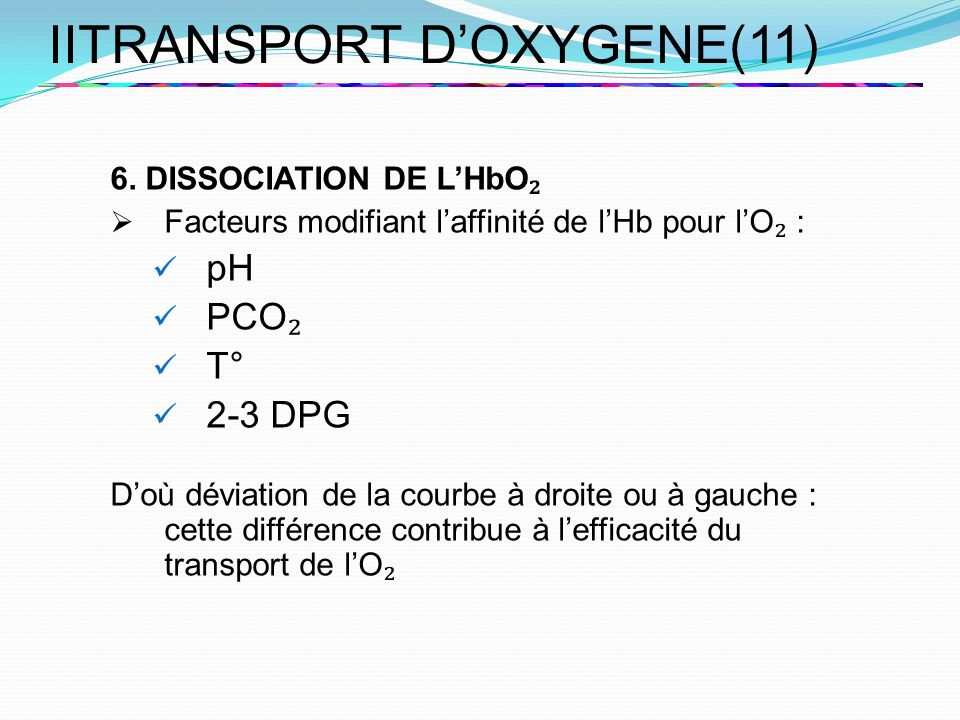 IITRANSPORT D'OXYGENE(11)