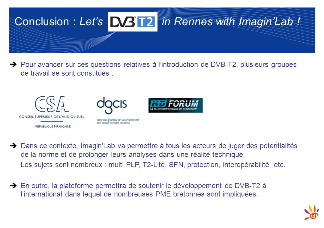 Conclusion : Let's in Rennes with Imagin'Lab !