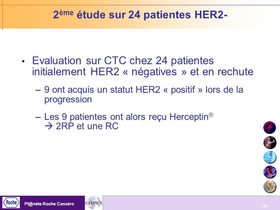 2ème étude sur 24 patientes HER2-