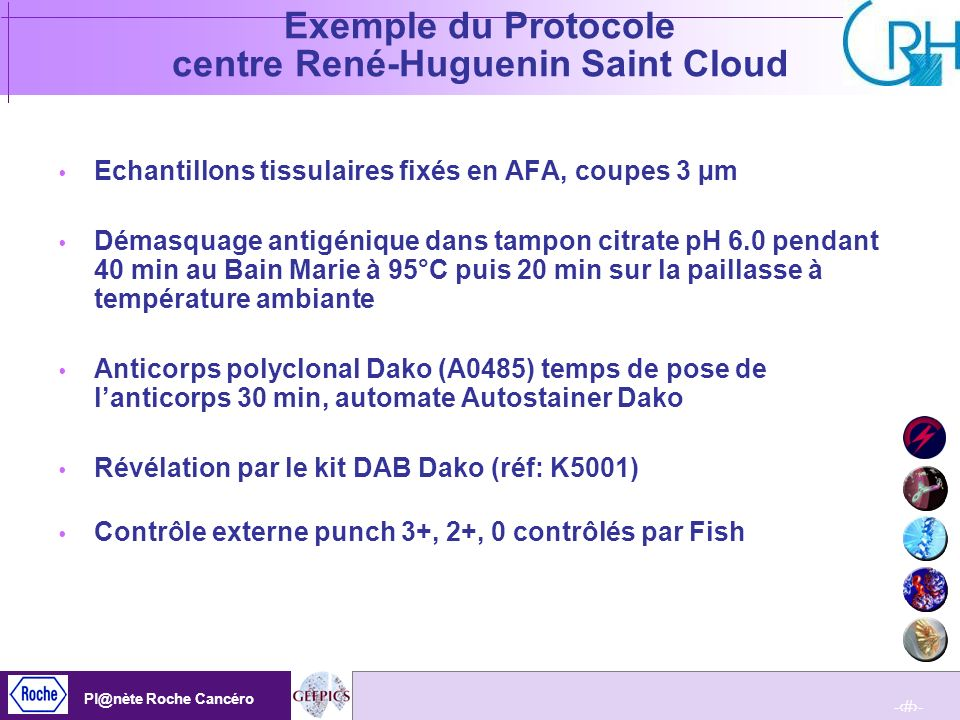 Exemple du Protocole centre René-Huguenin Saint Cloud