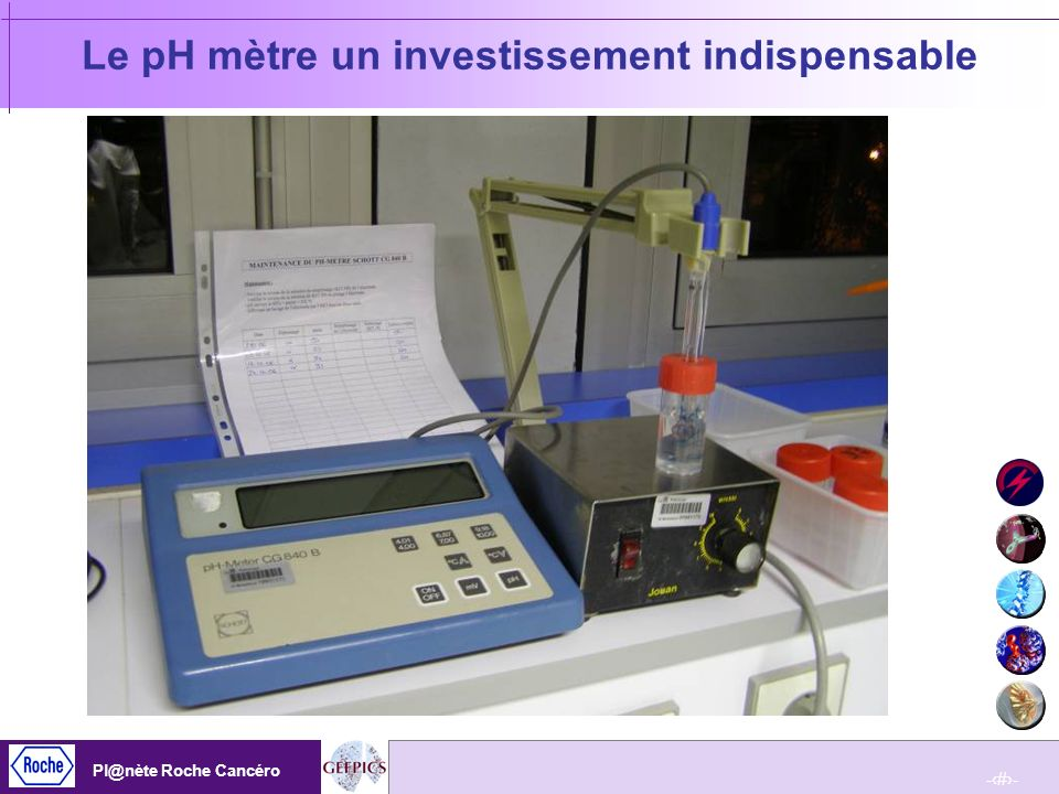 Le pH mètre un investissement indispensable
