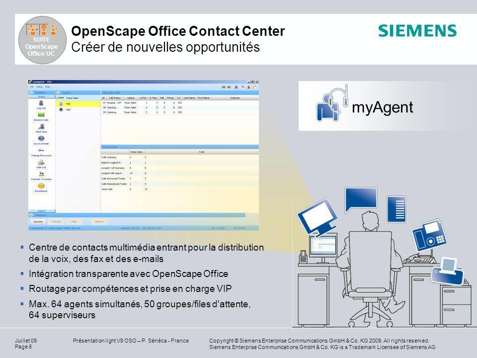 OpenScape Office Contact Center Créer de nouvelles opportunités