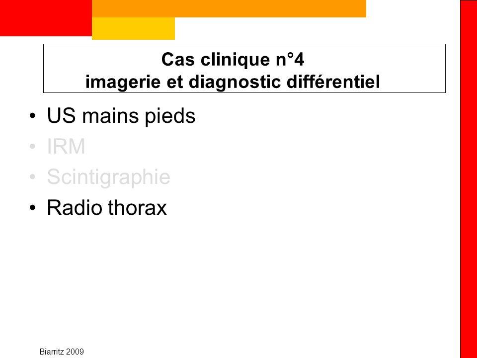 Cas clinique n°4 imagerie et diagnostic différentiel