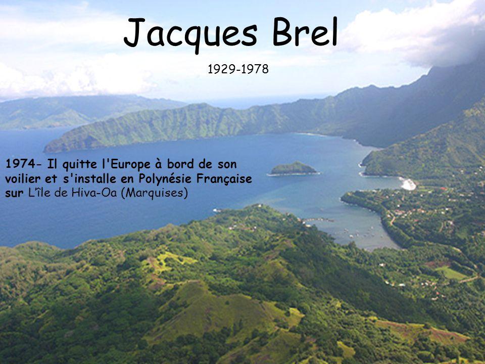Jacques Brel 1929-1978.