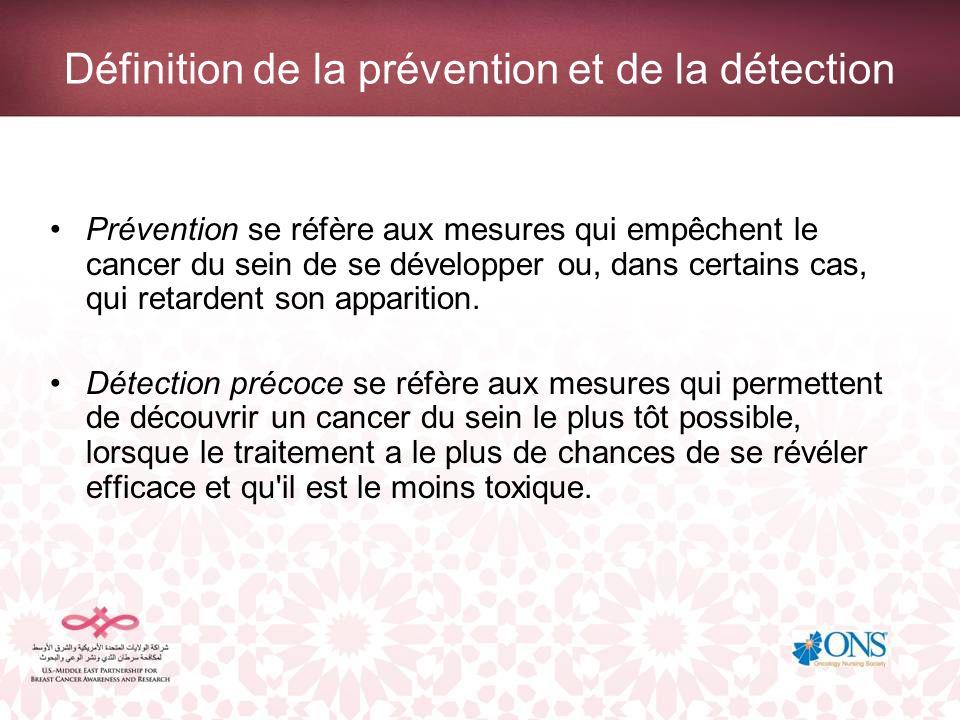 Définition de la prévention et de la détection