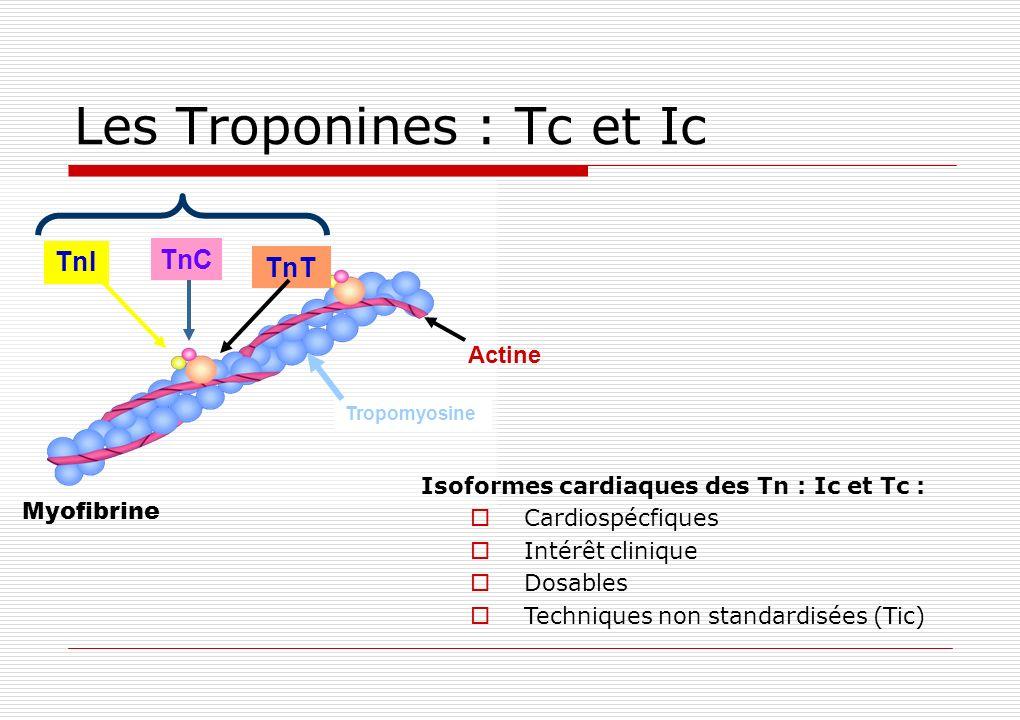 Les Troponines : Tc et Ic