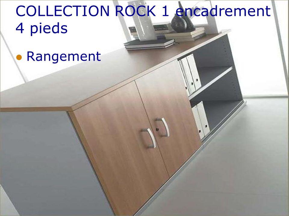 COLLECTION ROCK 1 encadrement 4 pieds