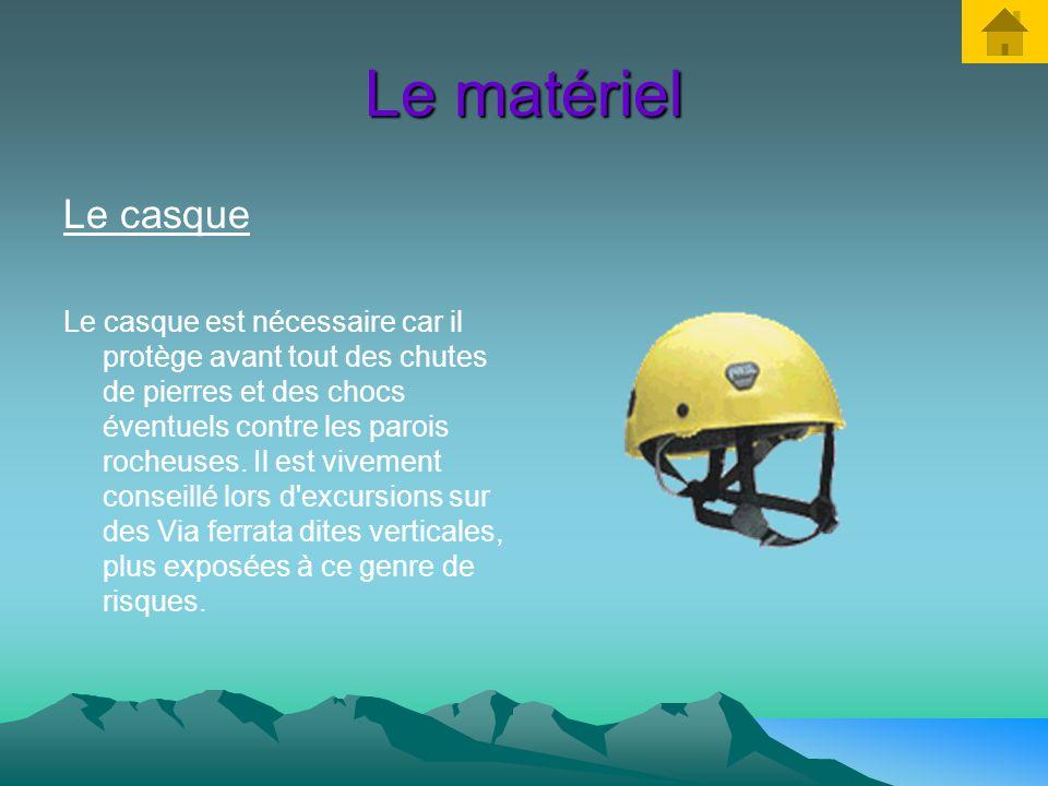 Le matériel Le casque.