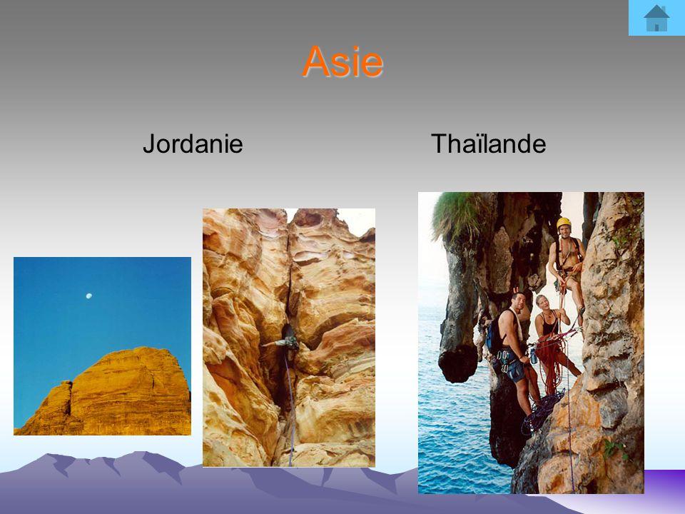 Asie Jordanie Thaïlande