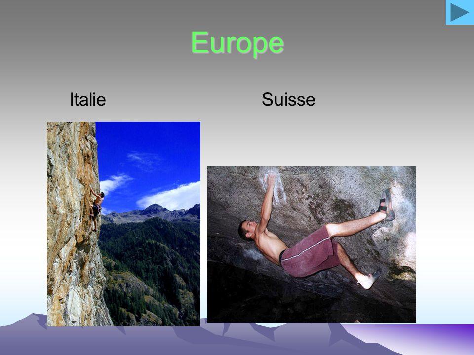 Europe Italie Suisse