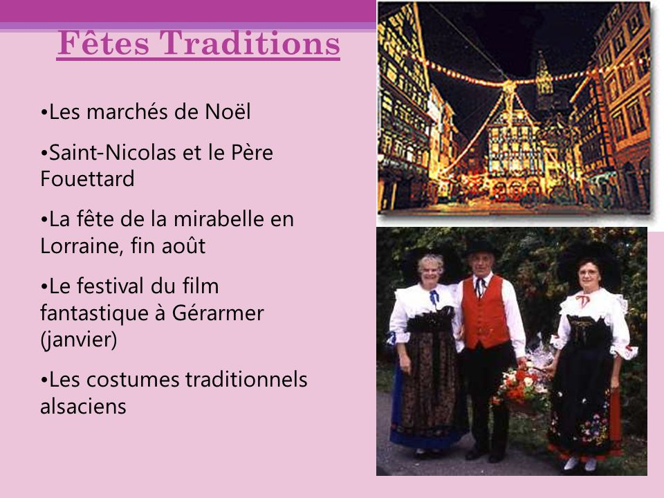 Fêtes Traditions Les marchés de Noël