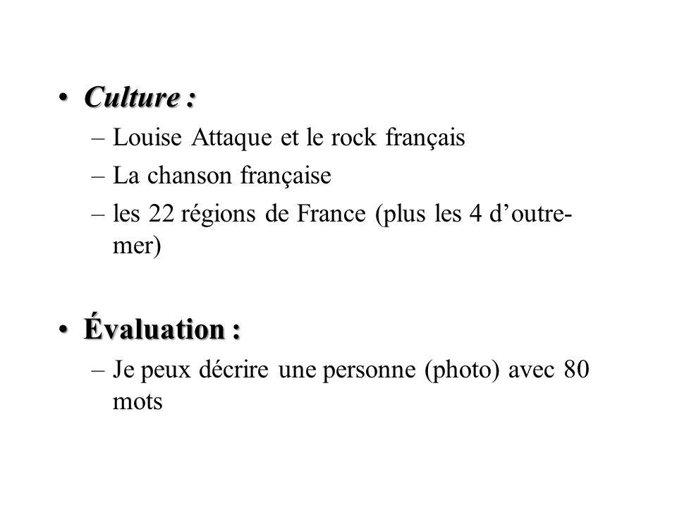 Culture : Évaluation : Louise Attaque et le rock français