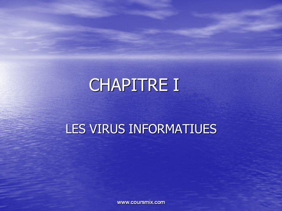 LES VIRUS INFORMATIUES