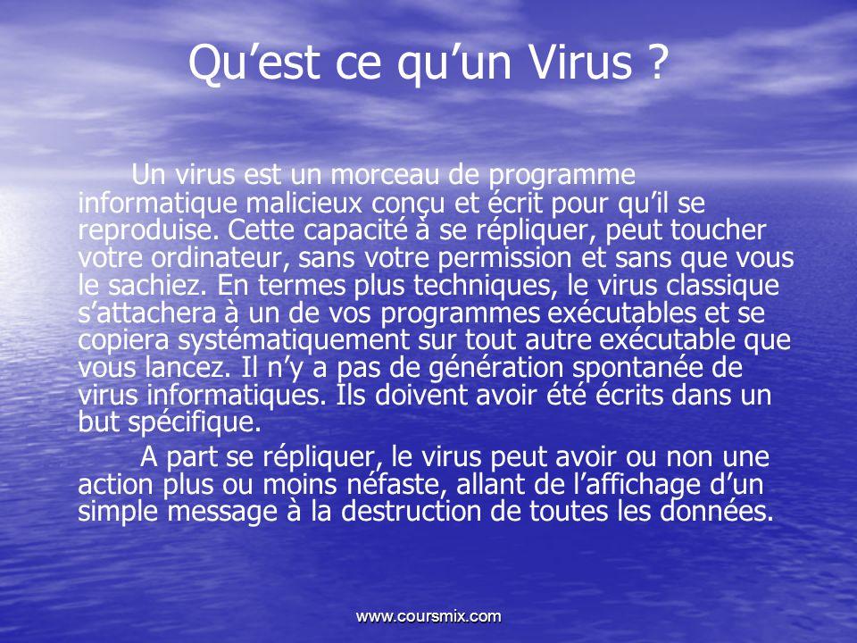 Qu'est ce qu'un Virus