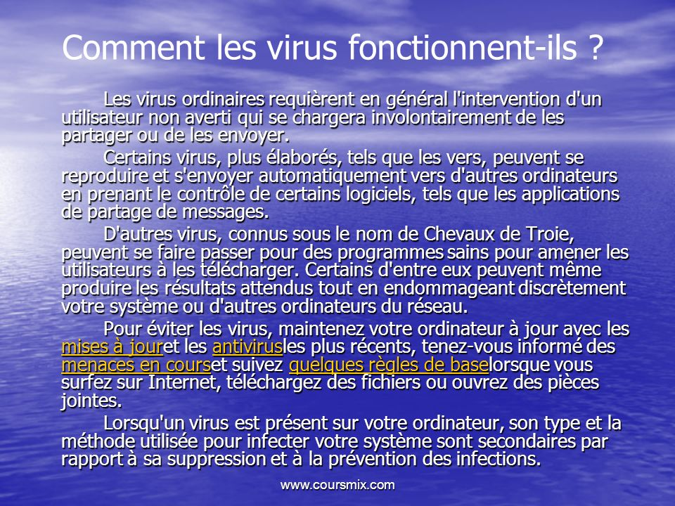 Comment les virus fonctionnent-ils