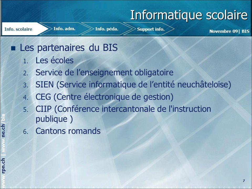 Informatique scolaire