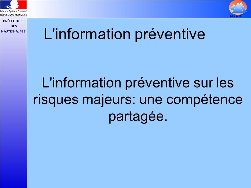 L information préventive