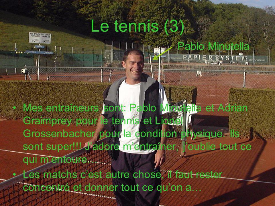 Le tennis (3) Pablo Minutella