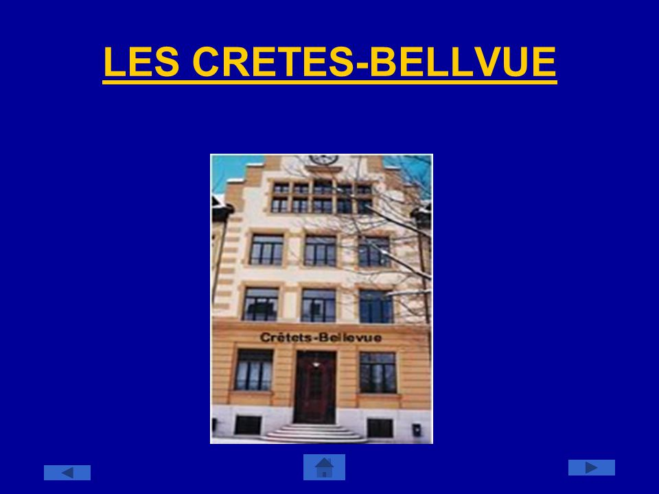LES CRETES-BELLVUE