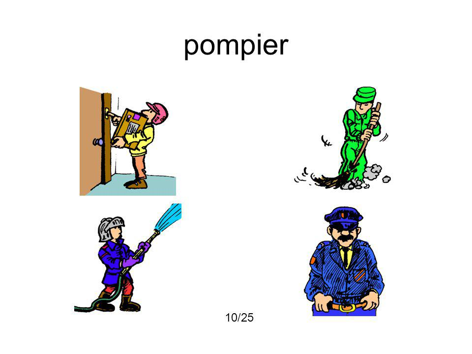 pompier 10/25